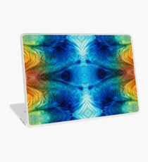 Colorful Abstract Art Pattern - Color Wheels - By Sharon Cummings Laptop Skin