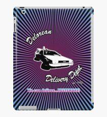 Delorean Delivery Depot iPad Case/Skin