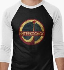 CCCP Interkosmos V02 Men's Baseball ¾ T-Shirt