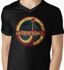 CCCP Interkosmos V02 Men's V-Neck T-Shirt
