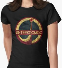 CCCP Interkosmos V02 Women's Fitted T-Shirt