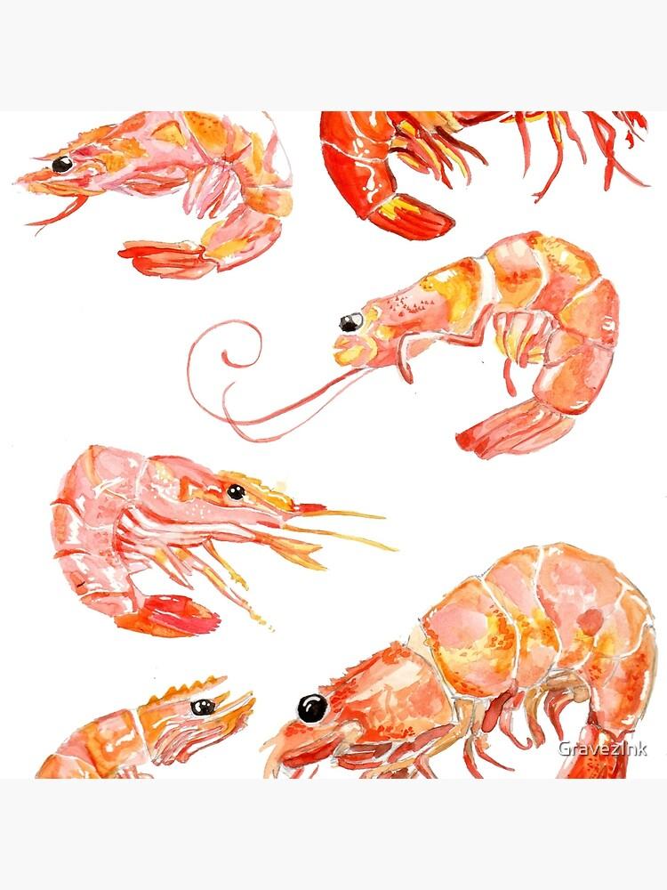 shrimp | Tote Bag