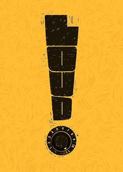 Loud! Typography Series by RonanLynam
