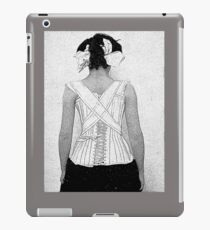 Mysterious Vintage Woman in Corset iPad Case/Skin