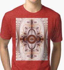 Time machine - Abstract Fractal Artwork Tri-blend T-Shirt