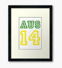AUSTRALIA 2014 Framed Print