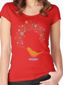Birdsong Women's Fitted Scoop T-Shirt