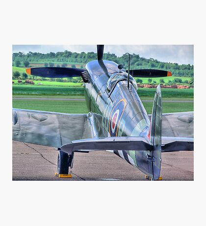 MH434 - Flightline - Duxford - 25.05.2014 Photographic Print