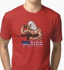 Camiseta de tejido mixto America