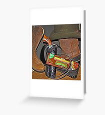 Spaghetti Western Greeting Card