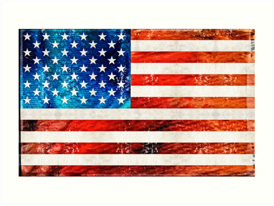 984255f651f American Flag Art - Old Glory - By Sharon Cummings