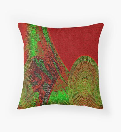 ROLLING-ON-ABSTRACT Throw Pillow