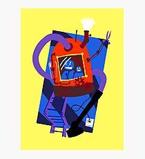 Vacuum robot robot Photographic Print