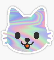Trippy Cat Sticker