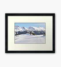 Blackcomb Mountain, Whistler, British Columbia Framed Print