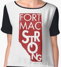Fort Mac Strong Chiffon Top