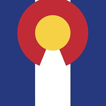 Colorado Flag by stoopiditees