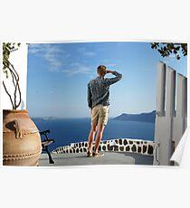 Greek paradise Poster