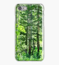 Forest Greens iPhone Case/Skin