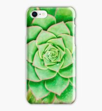 Green Flower iPhone Case/Skin
