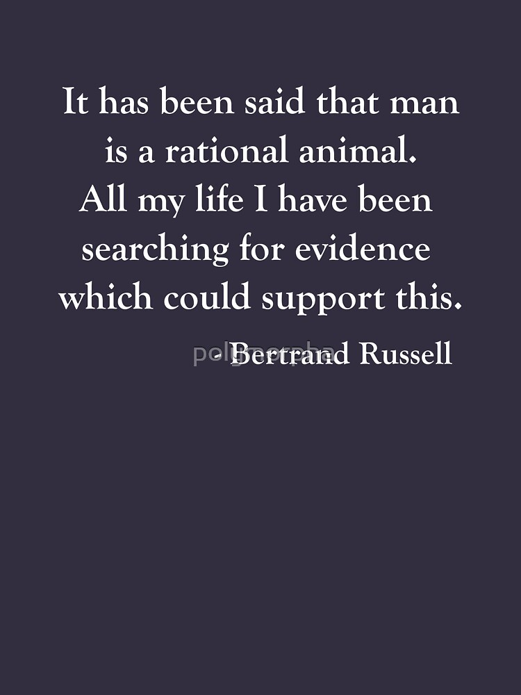 the future of mankind by bertrand russell text
