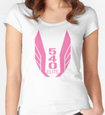 540 Elite pink Women's Fitted Scoop T-Shirt