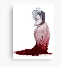 A love suicide Canvas Print