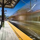 Azusa Downtown Metro Station by Mike Herdering