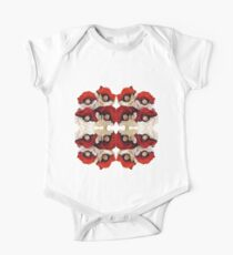 Pokeball Roses One Piece - Short Sleeve