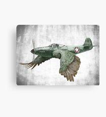 It's a bird. It's a plane... Canvas Print