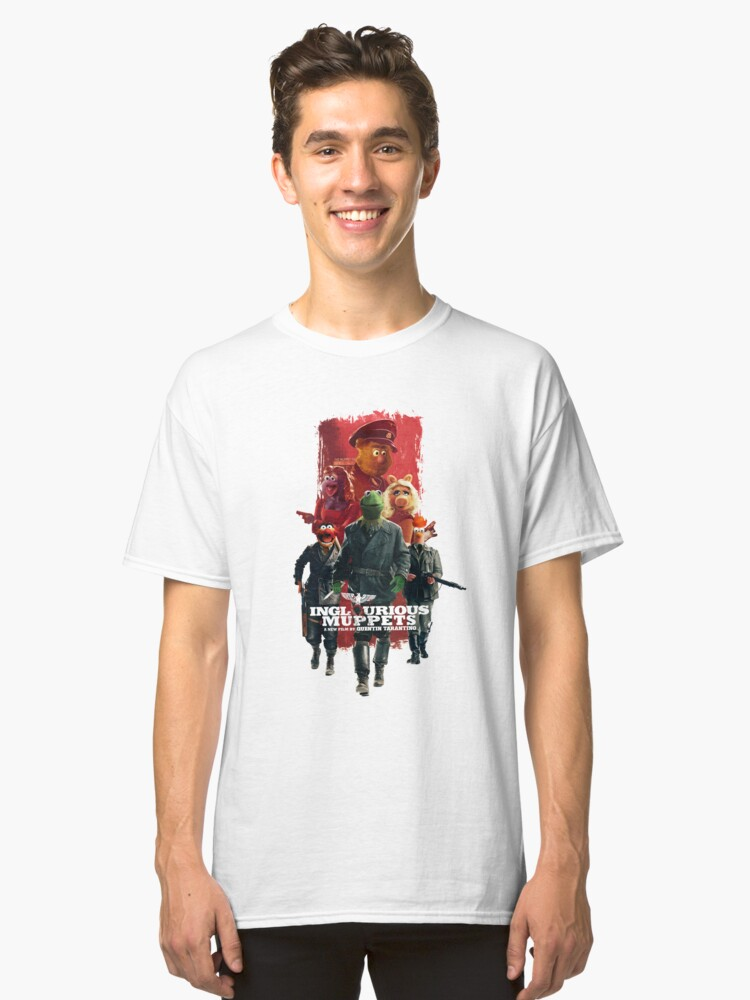 Inglorious Muppets Classic T-Shirt Front