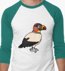 Cute King Vulture by Birdorable Men's Baseball ¾ T-Shirt