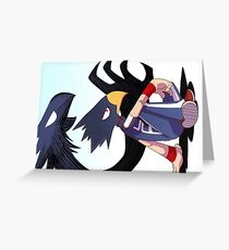 Tokoyami  Greeting Card