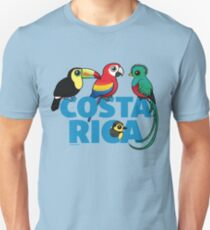 Cute Costa Rica Birds by Birdorable Unisex T-Shirt
