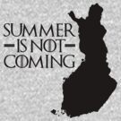 Summer is NOT coming - finland(black text) by Herbert Shin