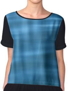 Water Pattern #2 Women's Chiffon Top