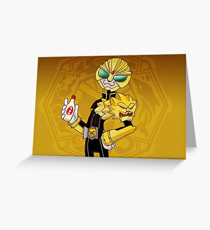 It's LUNCHTIME!!!! Kamen Rider Beast Greeting Card