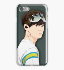 BTS V in Goggles  iPhone Case/Skin