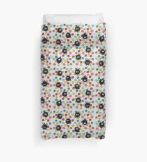 Soot Sprites with Star Candy Duvet Cover
