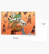 Goblyn postcard D Postcards