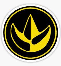 Mighty Morphin Power Rangers Green Ranger Symbol Sticker
