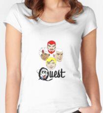 Jonny Quest Women's Fitted Scoop T-Shirt