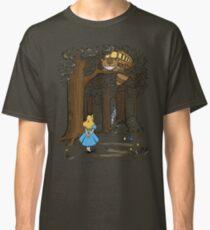My Neighbor in Wonderland (Army) Classic T-Shirt