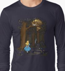 My Neighbor in Wonderland (Army) Long Sleeve T-Shirt