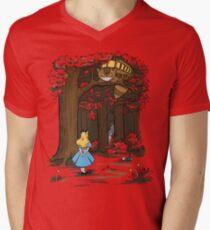 My Neighbor in Wonderland (Army) T-Shirt