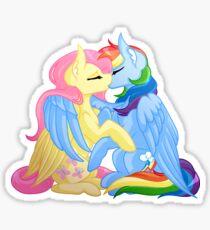 FlutterDash - My Little Pony Sticker