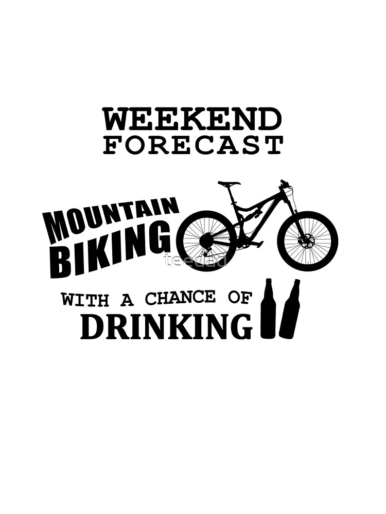 Funny Mountain Bike and Drinking by teedad