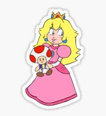 Princess Toadstool Sticker