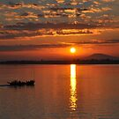 Irrawaddy Sunrise by Trevor Needham