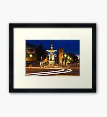 Alexandra Fountain Framed Print